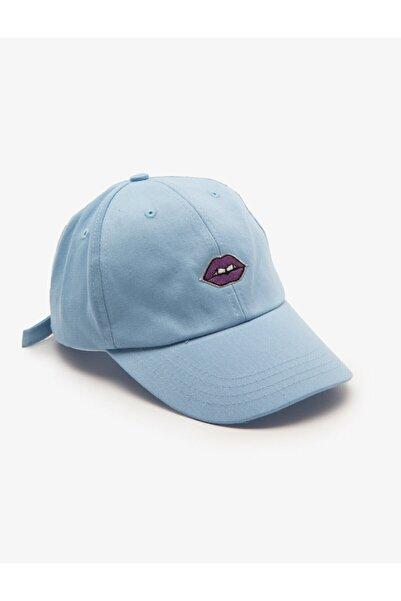 Koton Kadın Mavi Şapka 8YAK45007AA