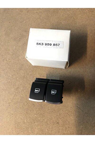 DMR Caddy Cam Açma Düğmesi 2li Kromlu 5k3959857cxsh Bc5k3959857a Otodemır