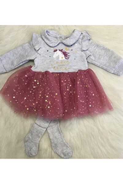 Bebetto Kız Bebek Tütü Elbise 2'li Takım
