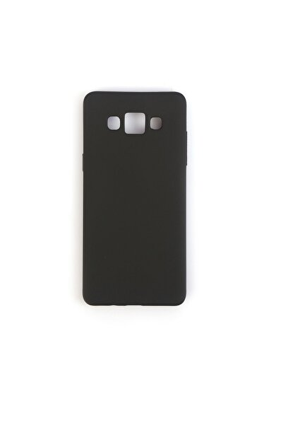 Vision Samsung Galaxy A5 2015 Kılıf Premium Silikon Siyah