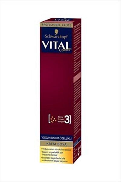 Vital Vıtal Colors Tüp Boya 8-0 Açık Kumral