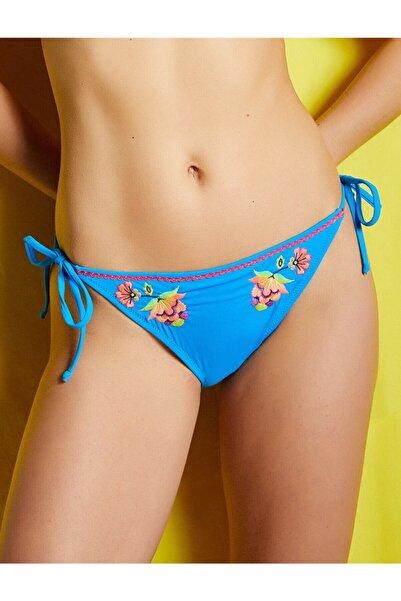 Koton Kadın Mavi Bikini Altı 8YAK88595MM
