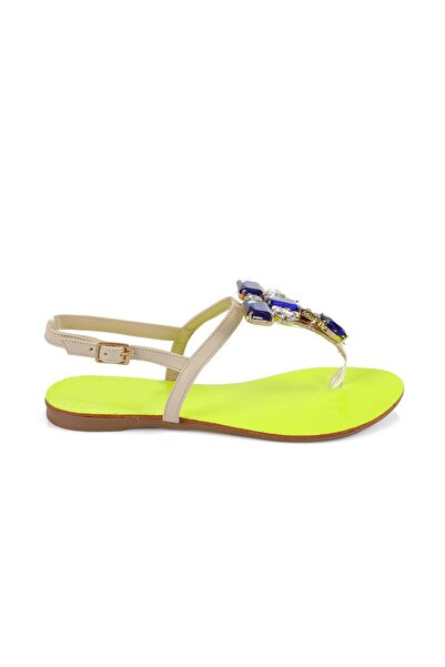 Oblavion Rio Sunny Taşlı Sandalet