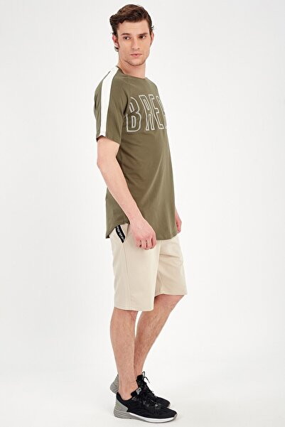 MARATON Erkek Ekru Gym T-shirt