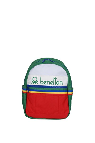 United Colors of Benetton Unisex Benetton Iki Bölmeli Anaokul Çantası 70034