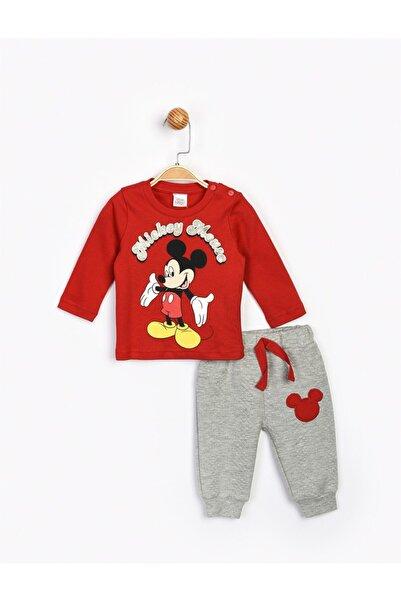 Mickey Mouse Bebek Kırmızı  Mickey Takım 16202