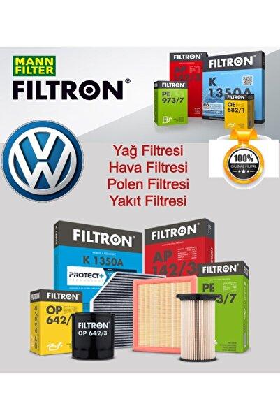 Volkswagen Golf 7 1.6 Tdi 2013 Sonrası Mann Filtron Yağ Bakım Filtre Seti