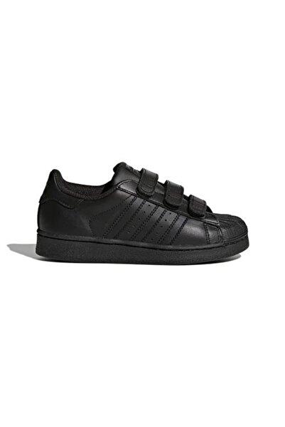 adidas SUPERSTAR FOUNDATION CF C Siyah Erkek Çocuk Kalın Tabanlı Sneaker 100662666