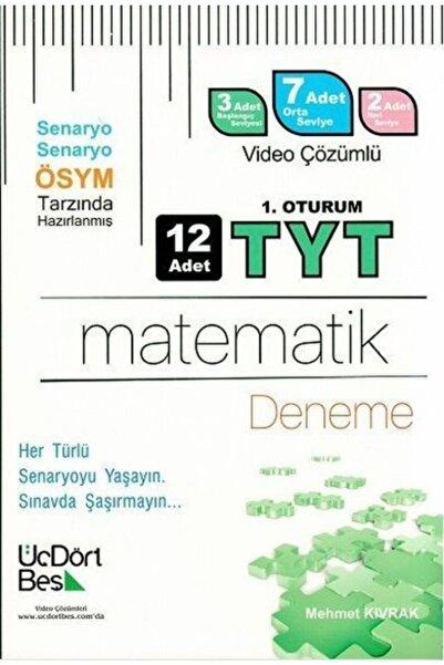 Üçdörtbeş Tyt Matematik 12 li Deneme Video Çözümlü
