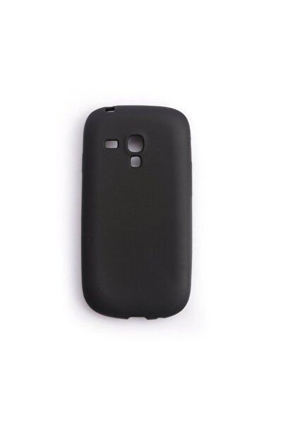 Vision Samsung Galaxy S3 Mini Kılıf Premium Silikon Siyah