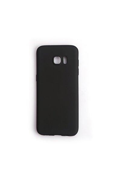 Vision Samsung Galaxy S7 Edge Kılıf Premium Silikon Siyah