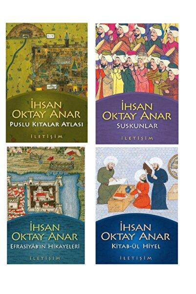 İletişim Yayınları Puslu Kıtalar Atlası,kitab-ül Hiyel,suskunlar,efrasiyab'ın Hikayeleri-ihsan Oktay Anar Set