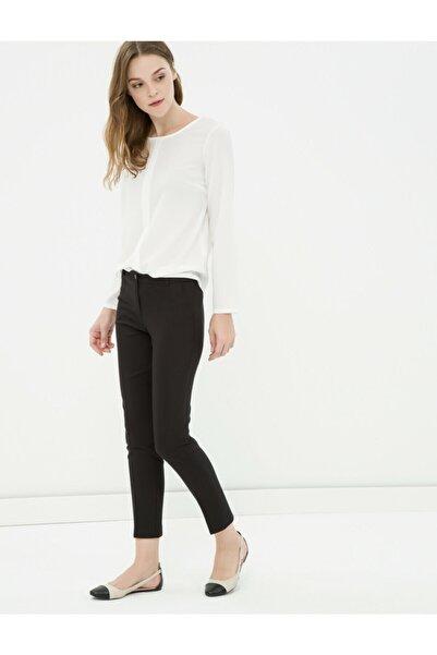 Koton Kadın Siyah Dar Kesim Pantolon