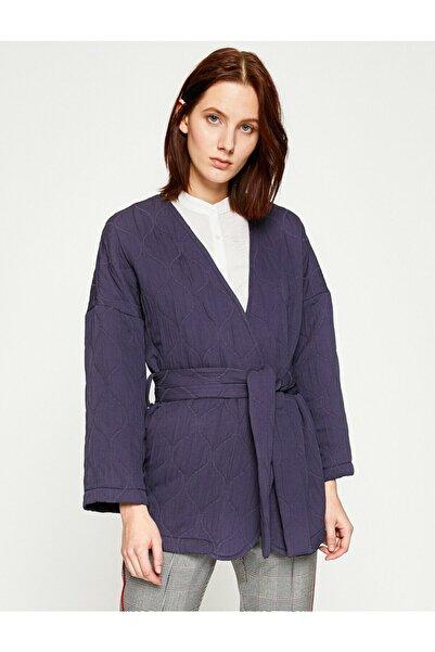 Koton Kadın Beli Baglamali Ceket