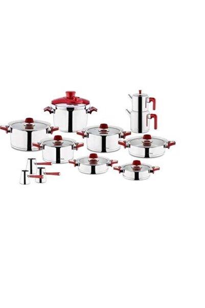 Aryıldız Çeyiz Seti Ideal Set 22 Parça Flamingo Kırmızı