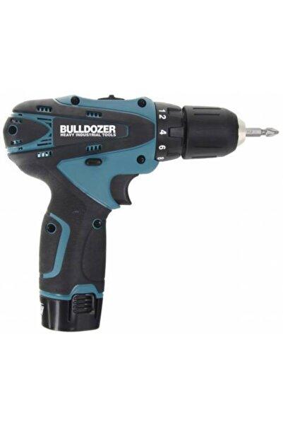 Bulldozer 20 Volt 3 Ah Darbesiz Çift Akülü Şarjlı Vidalama + 24 Parça Usta Seti (Mavi) Ar