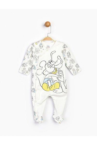 Mickey Mouse Bebek Beyaz Mickey Bebek Tulum 16189