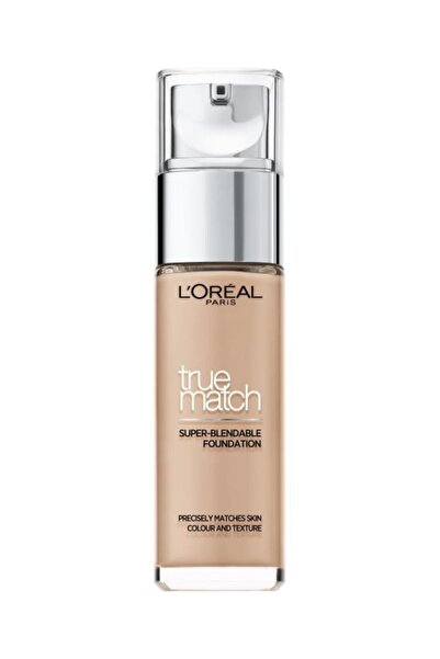 L'Oreal Paris Fondöten - True Match Foundation 3R Beige Rose 30 ml 3600522862499