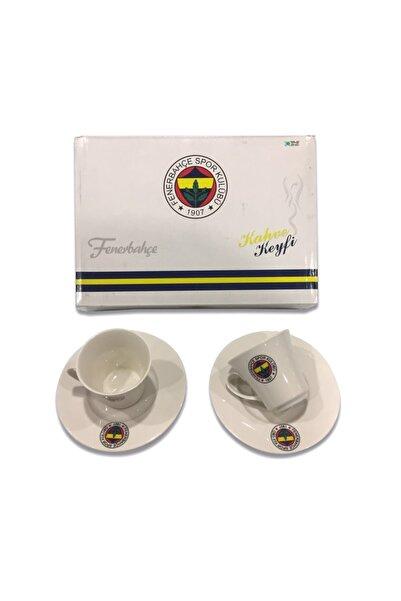 Fenerbahçe Fenerbahçe Lisanslı Ikili Fincan Set