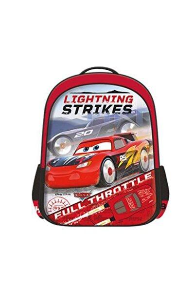 Otto Erkek Çocuk Kırmızı Cars Loft Rocket Racing Okul Çantası