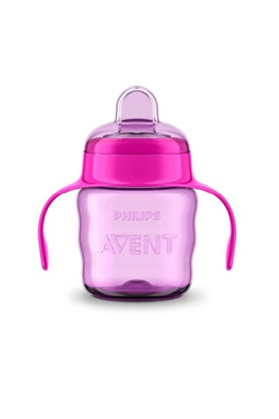 Philips Avent Kız Çocuk Avent 200 ml - 6 Ay Ve Üzeri Bebekler Için  Eğitici Damlatmaz Bardak