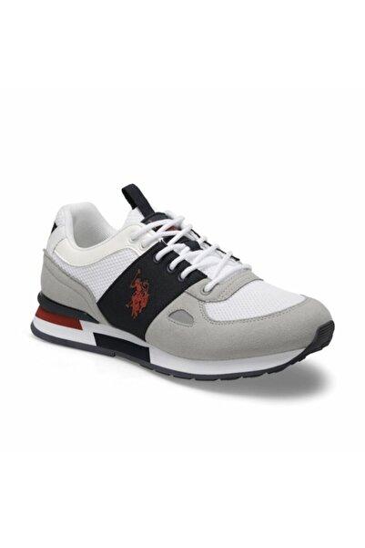 U.S. Polo Assn. Erkek Beyaz  Spor Ayakkabı