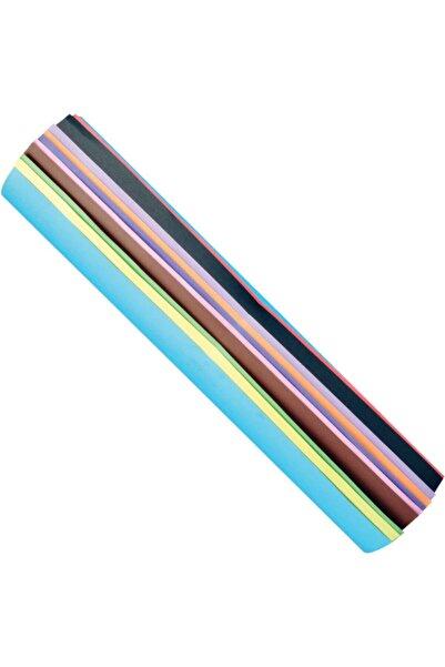 SİM Fon Kartonu 50x70 Cm 10'lu Rulo Karışık Renk (10 Renk 10 Adet)