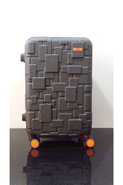 MY SARACİYE 360 Derece Donebılen Dort Tekerleklı Abs Lego Desen Orta Boy