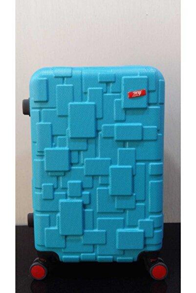 MY SARACİYE 360 Derece Donebılen Dort Tekerleklı Abs Lego Desen Büyük Boy