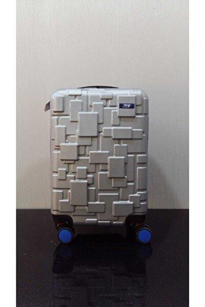 MY SARACİYE 360 Derece Donebılen Dort Tekerleklı Abs Lego Desen Kabın Boy
