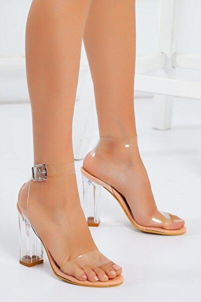 Shoe Miss Madrid Şeffaf Sandalet
