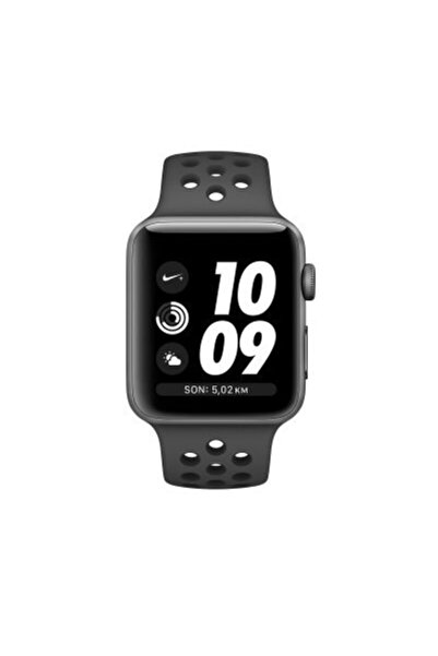 Apple Watch Nike+ 38mm Series 3 Uzay Grisi Alüminyum Kasa Spor Kordon