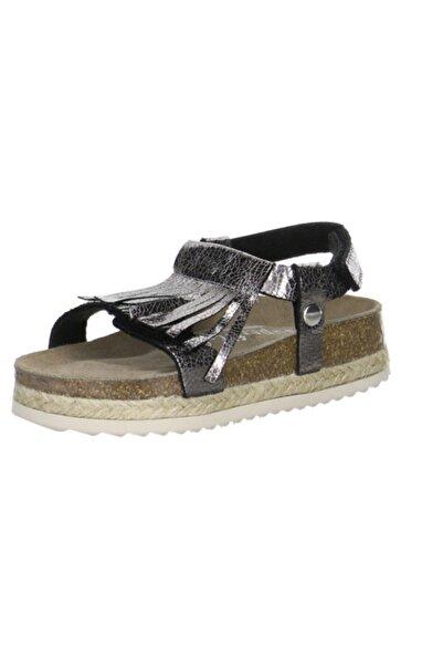Superfit 00122 Kadın Sandalet Siyah Püskül