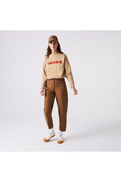 Lacoste Kadın Kahverengi Pantolon HF2466