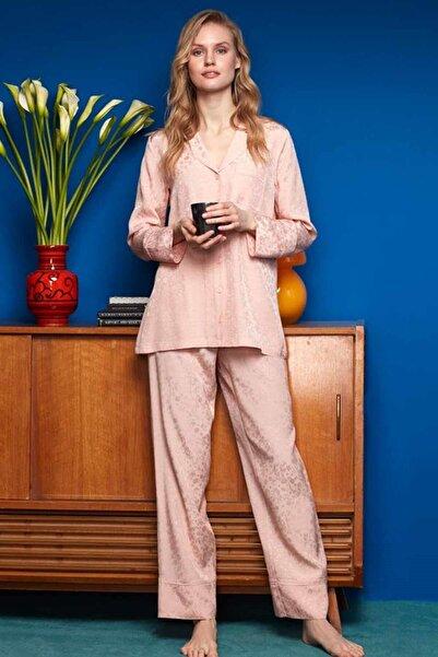 Penyemood Kadın Yavruağzı Pijama Takımı 8605