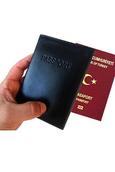 Seta Hakiki Deri Pasaport Cüzdanı