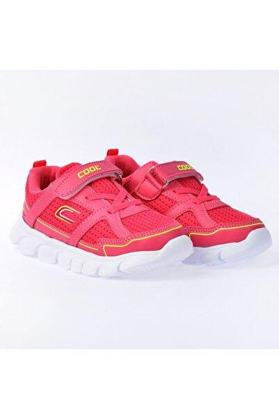 Kiko Kids Kız Erkek Çocuk Fuşya Günlük Fileli Cırtlı Spor Ayakkabı Kiko S03