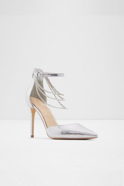Aldo Kadın Gümüş Ravenbourne Topuklu Ayakkabı