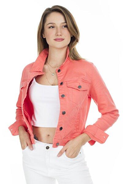 Vero Moda Kadın Oranj Slim Fit Ceket 10209864