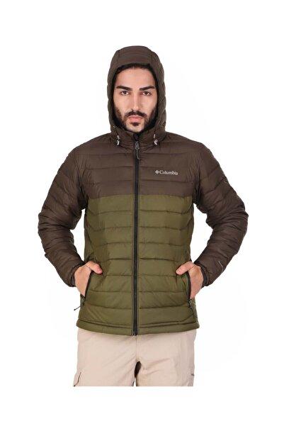 Columbia Erkek Yeşil Powder Lıte™ Hooded Mont