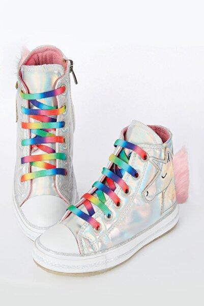Denokids Unicorn Hologramlı Kız Sneakers