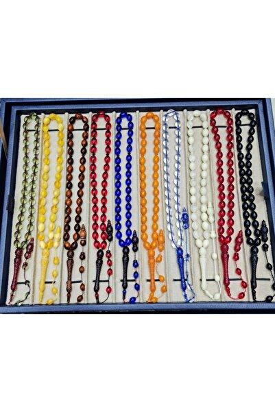 Öyküm accesory 10 Adet Toz Kehribar Tesbih Seti