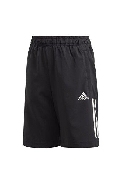 adidas Çocuk Siyah 3-stripes Boys Training  Şort
