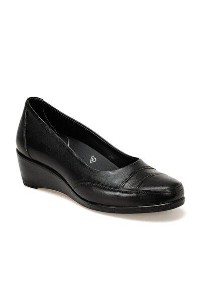 Polaris 5 Nokta Kadın Siyah Comfort Ayakkabı 103151.z