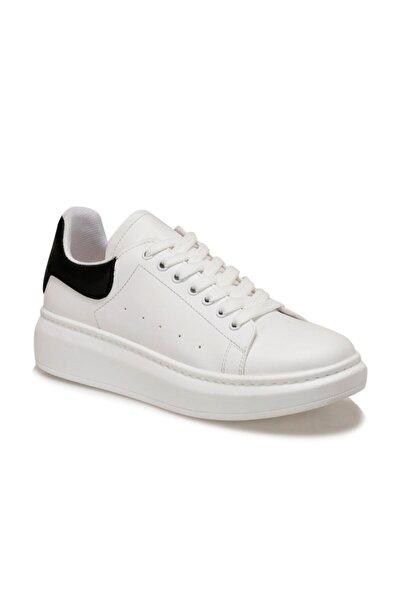 Butigo Kadın Beyaz Sneaker Adelitas Havuz Taban