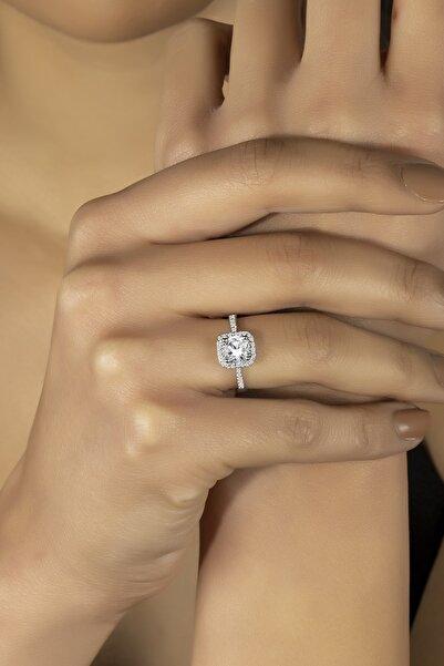 Kara Jewelry Swarovskı 925 Ayar Gümüş Fantezi Yüzük