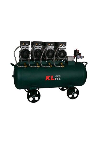 KLPRO Sessiz Hava Kompresörü Klk104s 4 Hp 100 lt 8 Bar