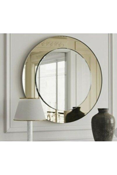 Şişecam Ayna Dekoratif Ayna Yuvarlak Ayna Konsol Aynası Dresuar Aynası Lavabo Aynası 50 Cm Çap