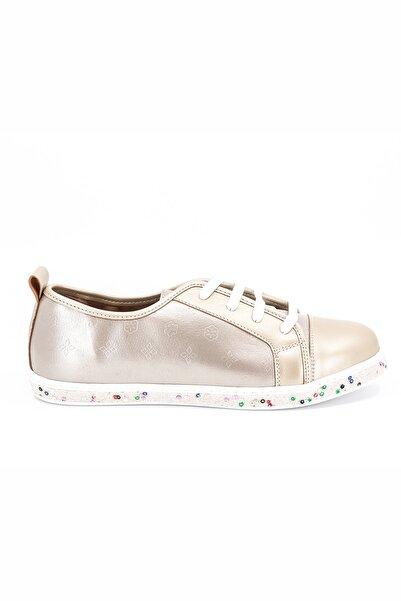 Pierre Cardin Kadın Gold Günlük Ayakkabı Pc-50616