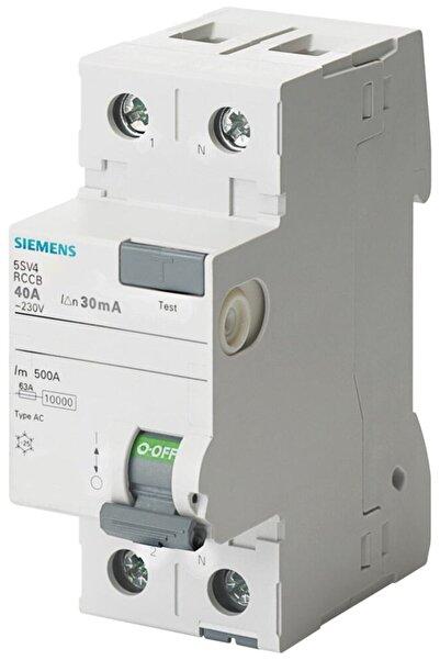 Siemens Sıemens Kaçak Akım Rölesi 5sv4614-0 40a 300ma 230v (faz+nötr)